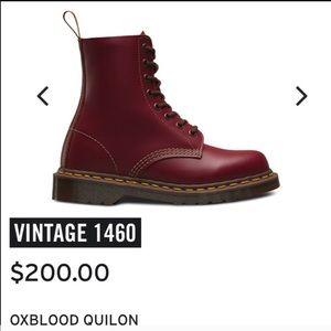 Doc Marten Quilon Oxblood 1460